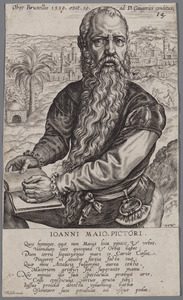 Portret van Jan Cornelisz. Vermeyen (1500-1559)