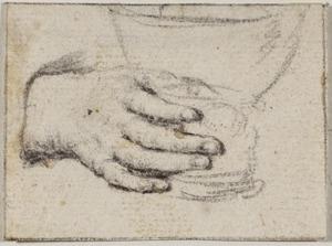 Een hand een roemer vasthoudend