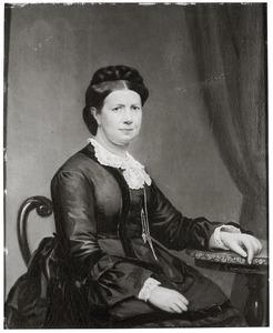 Portret van Henriette Robertine Castendijk (1821-1893)