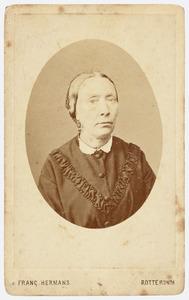 Portret van mw. De Ridder (née N.N.)