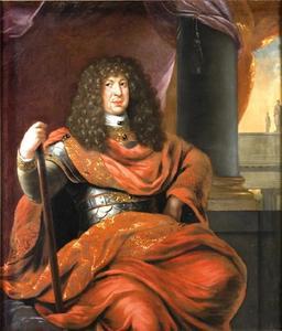 Portret van Kristian Albrekt (1641-1694)