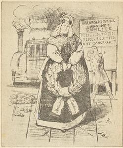 Portret van Maria Johanna Gartman (1818-1885)
