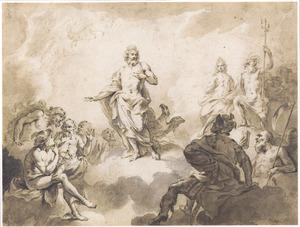 De goden van de Olympus (Metamorfosen)