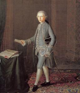 Portret van een jonge advocaat uit de De Kraan (De Craen) van Haeften-familie
