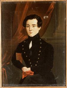 Portret van Joost Christiaan van der Bank (1820-1866)