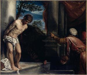 Het martelaarschp van de H. Sebastiaan