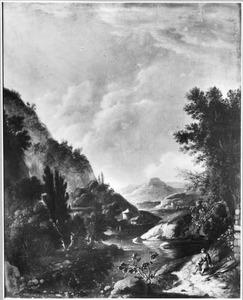 Berglandschap met een rivier