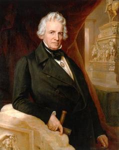 Portret van de beeldhouwer Christian Daniel Rauch (1777-1857)