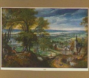 Landschap met Mercurius en Argus
