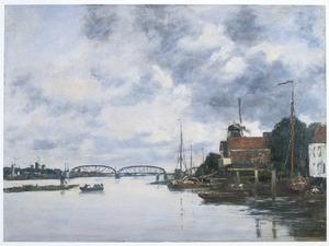 Brug over de Maas bij Dordrecht
