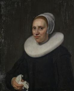 Portret van Jacomijntje van 't Wedde (1615- 1678)