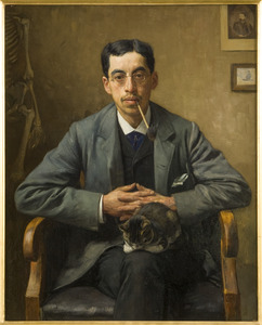 Portret van Arnold Aletrino (1858-1916)
