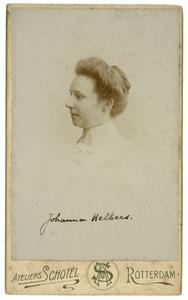 Portret van Johanna Helbers