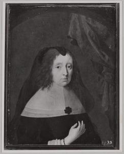 Portret van Gertrud van Aldenbockum ( -1673)