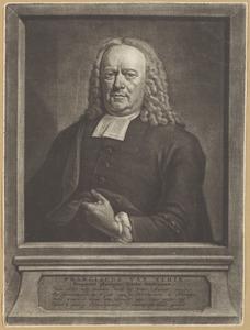 Portret van Franciscus van Schie (....-1756)