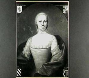 Portret van Antoinette van Brienen (1726-1801), echtgenote van Evert van Wachendorff