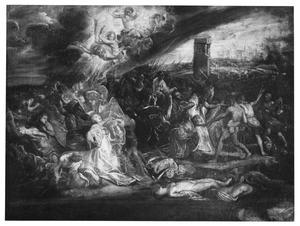 Het martyrium van de Heilige Ursula en haar metgezellen
