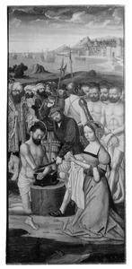 Episoden uit het leven van Adrianus van Nicomedia: de marteldood