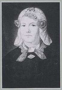 Portret van Janneke van der Meulen (1802-1871)