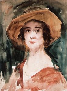 Portret van Marie van der Lugt