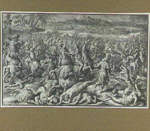 Slag tussen de Grieken en de Amazones (Plutarchus 1:27)