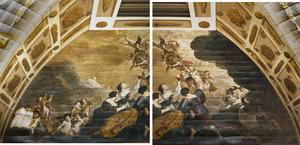 De apotheose van Frederik Hendrik