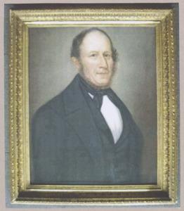 Portret van Jan Jacobus Korsten (1808-1871)
