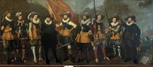 Schutters van het vendel van kapitein Abraham Boom