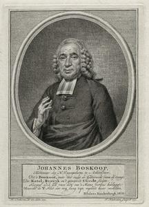 Portret van Johannes Boskoop (1714-1772)