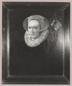 Portret van Bertha van Cranenbroucq (1527-1601)
