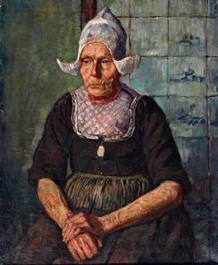 Portret van Geertje Karregat