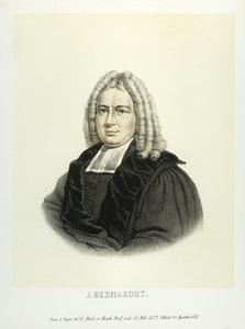 Portret van Jacques Bernard (1658-1718)