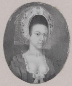 Portret van Catharina Blankers (1760-1823)