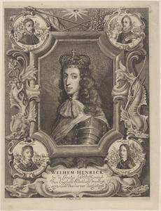 Portret van Willem III van Oranje-Nasseu (1650-1702)