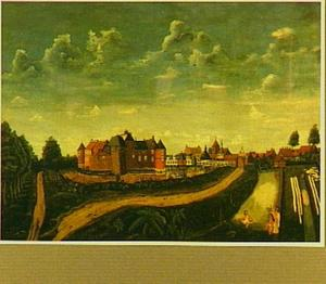 Gezicht op kasteel Borculo