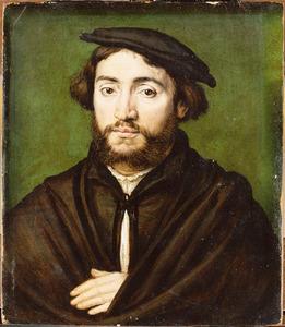 Portret van Pierre Aymeric, koopman uit Saint-Flour