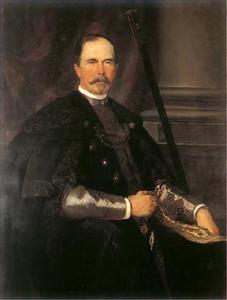 Portret van Jan Dzierżysław Tarnowski (1835-1894)
