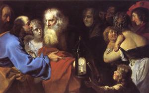 Diogenes zoekt een eerlijke man