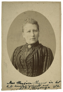 Portret van Johanna Catharina Cornelia Huygens (1848-1909)