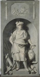 Voorstelling van Cyrus, vorst van het Babylonische Rijk