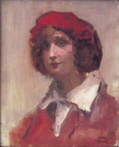 Meisje met rode muts
