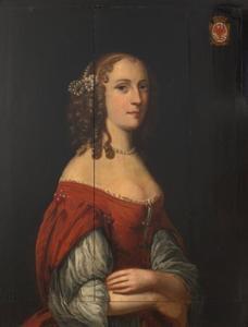 Portret van Hendrina van Arnhem (1625-1671)