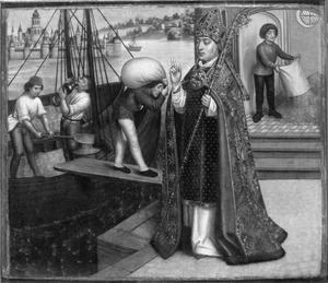 De H. Nicolaas en het graanwonder