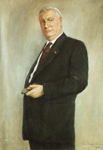 Portret van Willem Johan Marie Anton Asselbergs (1903-1968)