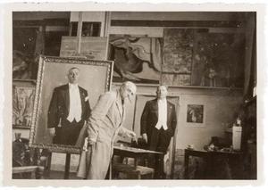 Jan Sluijters portretteert de heer H.A. Heijmeijer van Heemstede