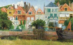 Huizen langs het kanaal