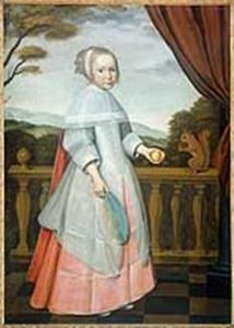 Portret van een meisje, waarschijnlijk Elisabeth van Oosten (1660-1714)