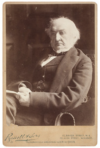 Portret van William Ewart Gladstone (1809-1898)