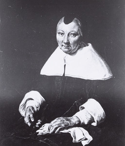 Portret van Agatha van der Horn