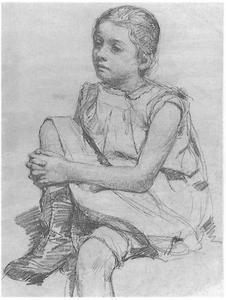 Portret van een meisje Arntzenius